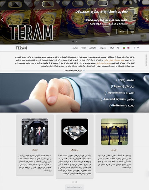 teram packaging